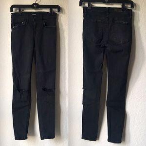 GRLFRND Rip-Knee Kendal Skinny Jeans